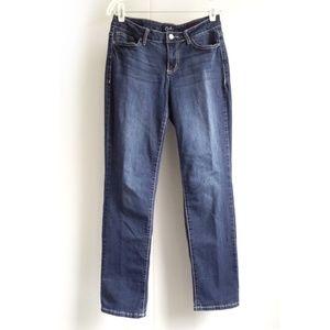 Earl Jeans Plain-Pocket Straight Leg Jeans